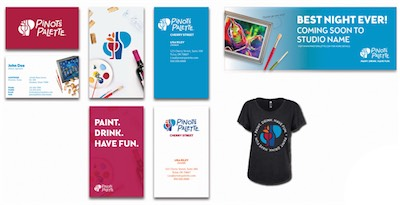 paint and wine franchise promotions