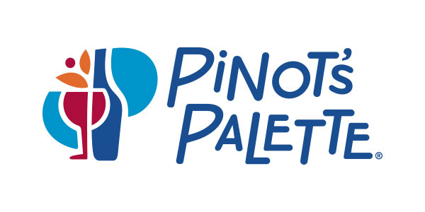 Image result for pinot's palette logo