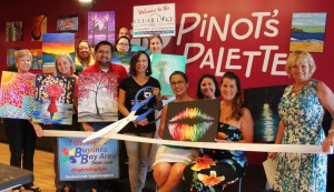 Paint and Wine Grand Opening