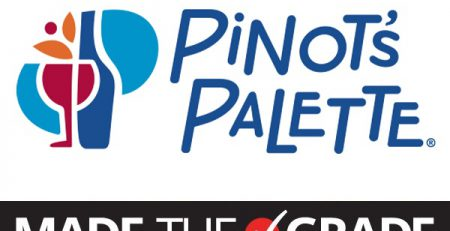 Pinot's Palette Earns Made the Grade Franchise Designation