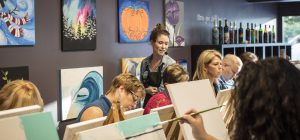 Painting It Forward at Pinot's Palette