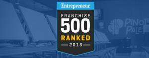 Franchise 500 Award