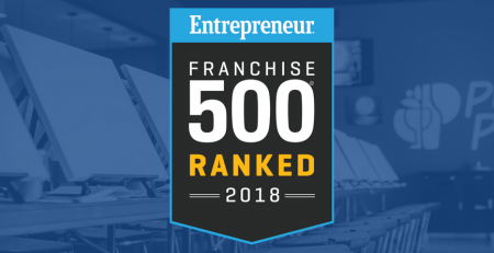 Franchise 500 Award